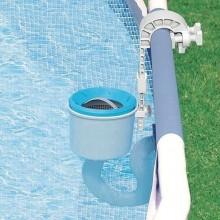 INTEX Bazénový závěsný skimmer Deluxe ( světle modrý ) 28000