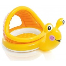 INTEX Dětský bazének nafukovací šnek 57124
