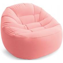INTEX Nafukovací křeslo Beanless Bag, růžové 112cm x 104cm x 74cm 68590NP