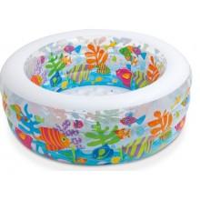 INTEX Dětský bazén oválný 58480NP