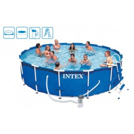 INTEX Bazén Metal Frame Pool 457 x 84 cm, 28228GN