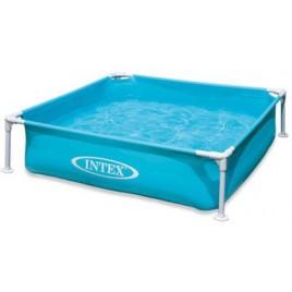 INTEX Bazén Frame Mini - modrý 1,22 x 1,22 x 0,3m 57173