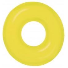 INTEX Neon Frost nafukovací kruh, 91 cm, žlutý 59262