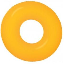 INTEX Neon Frost nafukovací kruh, 91 cm, oranžový 59262