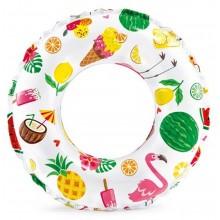 INTEX Lively Print nafukovací kruh 61cm, dobroty 59241NP
