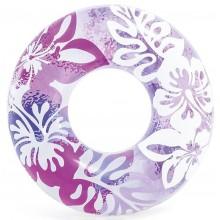 INTEX Plovací kruh 91cm, růžová 59251