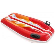 INTEX Lehátko surf s držadly 112 x 62 cm červený, 58165NP