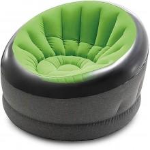 INTEX EMPIRE CHAIR nafukovací křeslo zelené 112x109x69 cm 66581NP