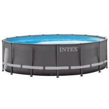 INTEX ULTRA XTR FRAME POOLS SET 7,32m X 1,32m s pískovou filtrací 26340GN