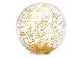 INTEX Nafukovací Transparetní balón zlatý 58070NP