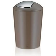 KELA Odpadkový koš MARTA 5L plast, šedohnědá KL-22775