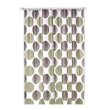 KELA sprchový závěs 180x200cm LAMARA šedá / béžová KL-22098