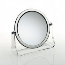 KELA Kosmetické zrcátko LIA, akryl, 5x zvětšující KL-20738