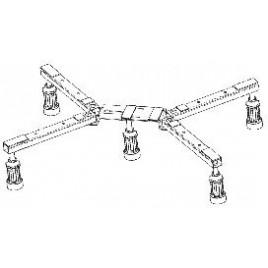 KERAMAG nohy k vaničce MEPA DW-5 Maxi 653005000