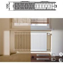 Kermi Therm X2 Profil-Kompakt deskový radiátor pro rekonstrukce 22 554 / 1000 FK022D510