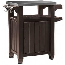 KETER UNITY 105L multifunkční stolek, 82 x 52 x 90 cm, hnědá 17202663