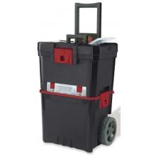 KETER kufr na nářadí pojízdný 42x29x62,5cm černý 17181812