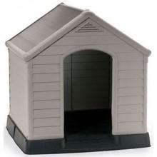 KETER DOG HOUSE Bouda pro psy, 95 x 99 x 99 cm, šedá 17360369