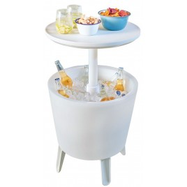 KETER ILLUMINATED COOL Bar Chladicí stolek s osvětlením, bílá 17204184