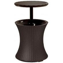 KETER COOL BAR RATTAN Chladicí stolek, hnědý 17194548