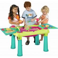 KETER CREATIVE FUN TABLE stoleček na hraní, zelená/fialová 17184058