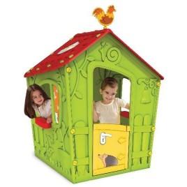 KETER Dětský domek MAGIC zelený 17185442