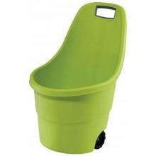 KETER EASY GO 55L vozík, světle zelená 17182462