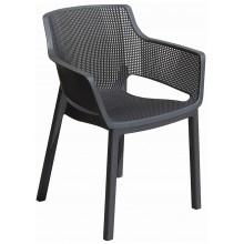 KETER ELISA zahradní židle, 57,7 x 62,5 x 79 cm, grafit 17209499