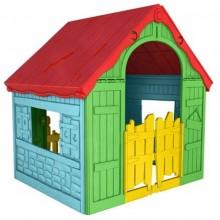 KETER FOLDABLE PLAYHOUSE dětský domek, žlutá/červená/modrá 17202656