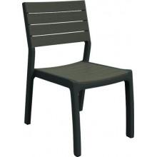 KETER HARMONY zahradní židle, 49 x 58 x 86 cm, antracit/hnědo-šedá 17201232