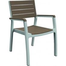 KETER HARMONY zahradní židle, 58 x 58 x 86 cm, bílá/cappuccino 17201284