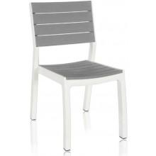 KETER HARMONY zahradní židle, 49 x 58 x 86 cm, bílá/šedá 17201232