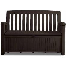 KETER PATIO BENCH 227L úložná lavice 138,6 x 63,5 x 88 cm, hnědá 17202690