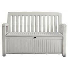 KETER PATIO BENCH 227L úložná lavice 138,6 x 63,5 x 88 cm, bílá 17202690