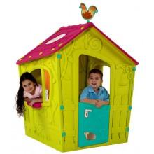KETER MAGIC PLAYHOUSE dětský domek, zelená/fialová 17185442