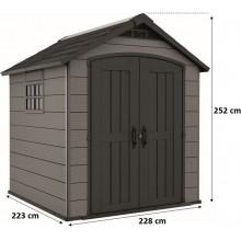 KETER PREMIER 757 zahradní domek, 228 x 223,5 x 252 cm 17210357