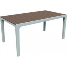 KETER HARMONY stůl 160 x 90 x 74cm, cappuccino/bílá 17201231