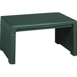 KETER LAGO LOUNGE odkládací stůl, 60 x 40 x 30 cm, zelená 17186171