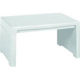 KETER LAGO LOUNGE odkládací stůl, 60 x 40 x 30 cm, bílá 17186171