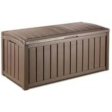 KETER GLENWOOD 390L zahradní úložný box 128 x 65 x 61 cm, hnědá 17193522