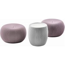 KETER URBAN KNIT Set nábytku, fialová/šedá 17205082