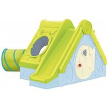 KETER FUNTIVITY PLAYHOUSE dětský domek, světle zelená/modrá 17192000