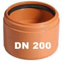 OSMA KGUSM kanalizační přechodka DN 200, PVC/kamenina 223840