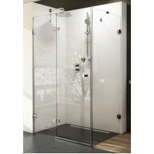 RAVAK BRILLIANT BSDPS 120/90 R sprchové dveře dvojdílné a stěna transparent 0UPG7A00Z1