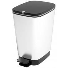 KIS CHIC BIN M 35L STEEL odpadkový koš 40,5x26,5x45cm