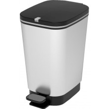 KIS CHIC BIN S 10L STEEL odpadkový koš 18x27x30cm