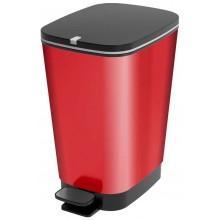 KIS CHIC BIN M 35L odpadkový koš 40,5x26,5x45cm red metal