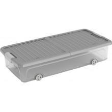 KIS W BOX UNDERBED L 35L 79x39x17cm transparentní/šedé víko