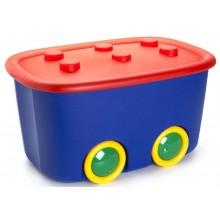 KIS FUNNY BOX L 46L 58x38,5x32cm modrý/červený