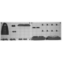 KIS Organizer na nářadí 50 x 7 x 31 cm (2x), grey/black